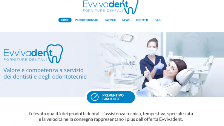 Evvivadent – Nuovo sito web