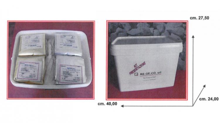 Kit presentazione gessi per laboratorio odontotecnico