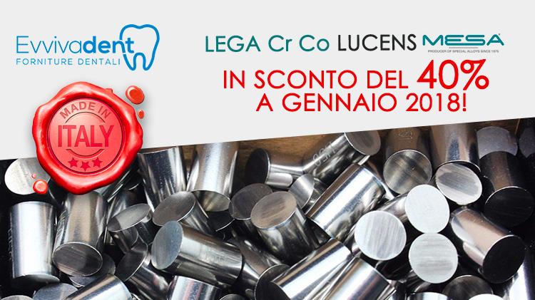 Offerta prodotti dentali: lega Magnum Lucens sconto al 40%