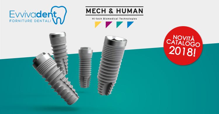 Evvivadent distributore di forniture dentali Mech & Human